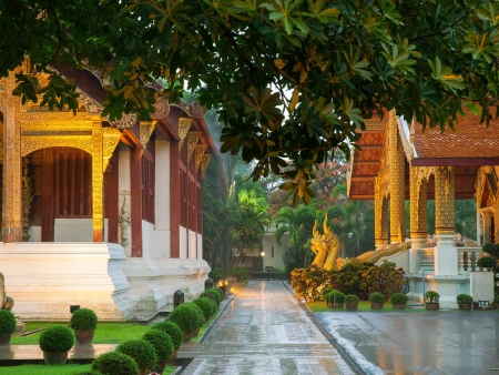 Les quartiers coloniaux et artisanaux de Chiang Mai