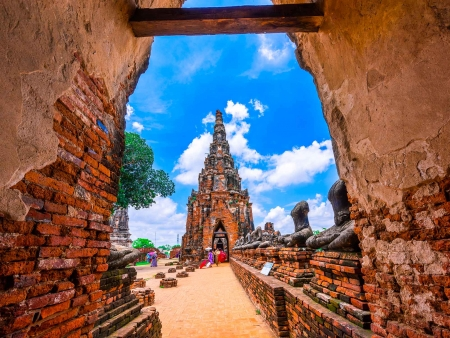 Splendeurs de la cité ancienne d'Ayutthaya