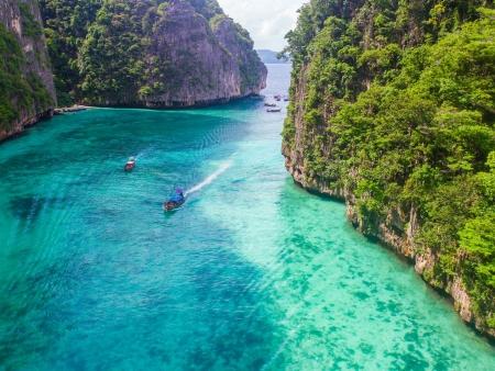 Envol pour la côte d'Andaman et ses bancs de sable fin