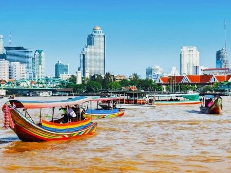 Le long de la Chao Phraya