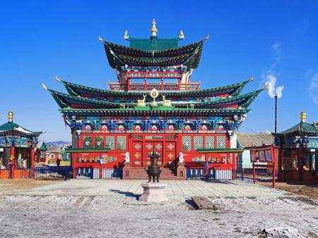 Arrivée en Mongolie