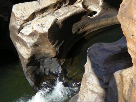 Le vertige de Blyde river Canyon