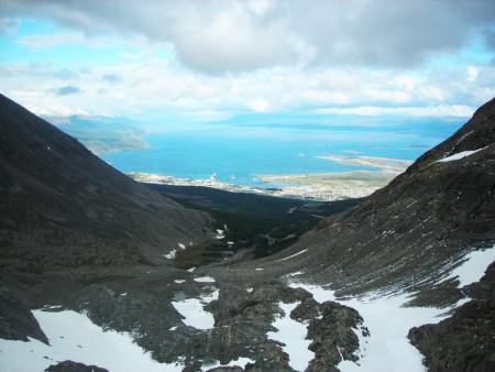 Entre glaciers et montagnes