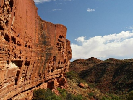 De Kings Canyon à Alice Springs