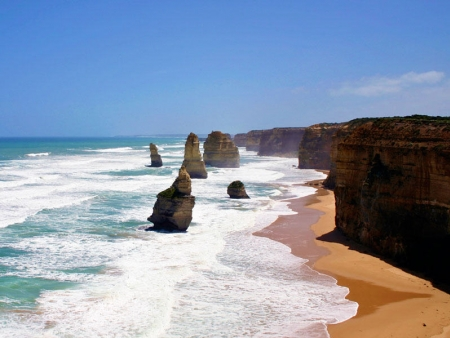 Survol de la Great Ocean Road