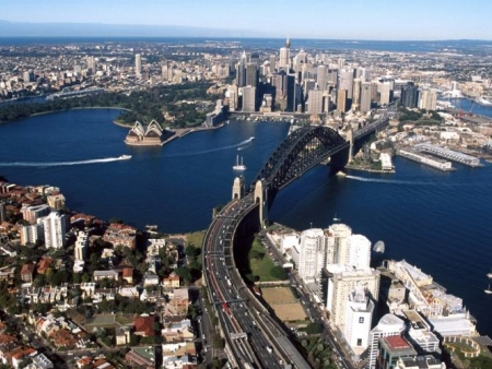 Envol pour Sydney