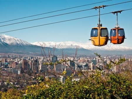 Santiago, vue d'en haut !
