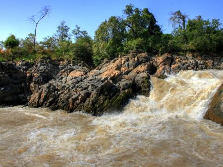 Les chutes du Mékong