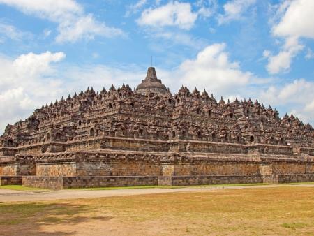 Borobudur à bicyclette