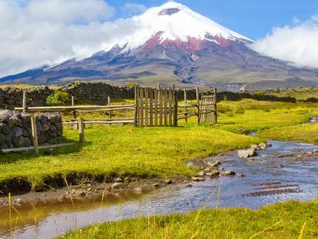 Balade sur le volcan Cotopaxi