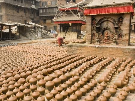 Visite de Bhaktapur et Thimi