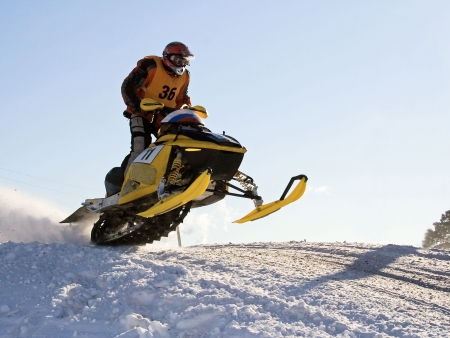 Journée de découverte en motoneige de l'arrière pays québécois