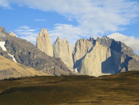 A l'horizon : la Patagonie