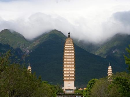 Les Trois Pagodes de Chongsheng et promenade dans Dali