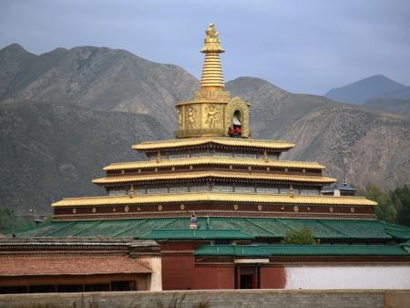 Visite de monastère Tibetain