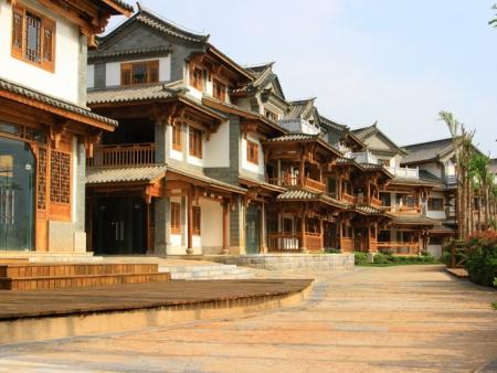 Visite du lac, visite  du temple Zhiyun