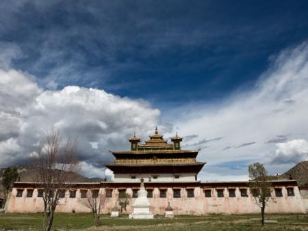Visite de Yumbulagang et du temple Tandrung