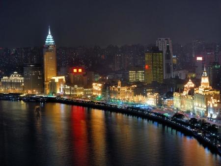 Le Bund & la Rue de Nanjing, Pudong