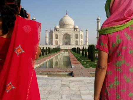 Majestueux Taj Mahal