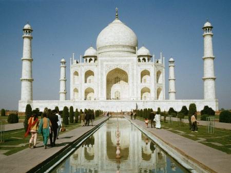 Route vers le bijou de l'Inde, le Taj Mahal