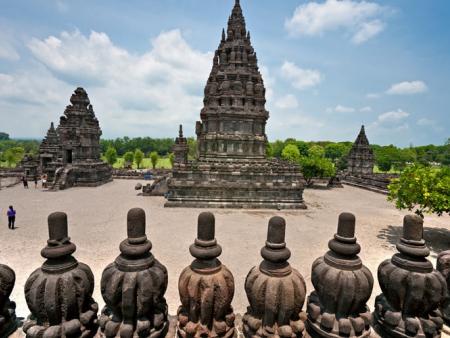 Visite du temple Borobudur et Taman Sari