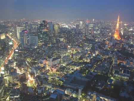 Quartiers de Shinjuku et de Shibuya, parc Yoyogi
