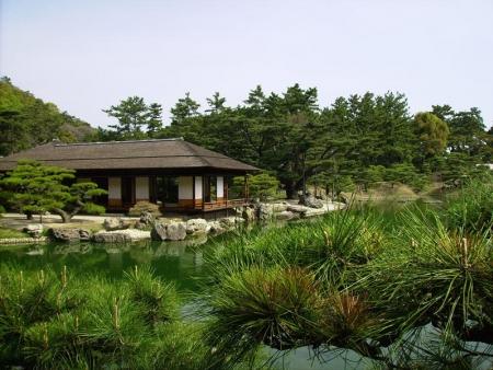 Le jardin Ritsurin de Takamatsu