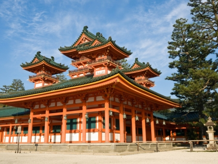 Temples and shrines, Gion and Pontocho districts