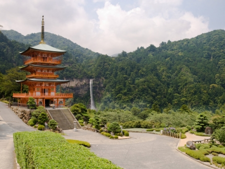 Nachi no Taki Falls and Kumano Nachi Taisha shrine