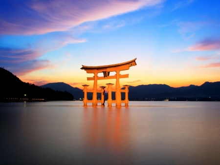 Visit the sacred island of Miyajima
