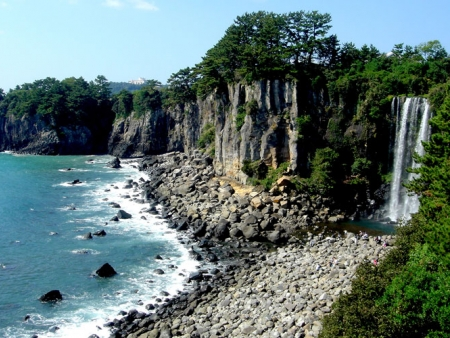 L'île volcanique de Jeju