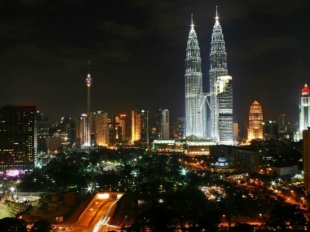 Arriving in Malaysia and visiting Kuala Lumpur