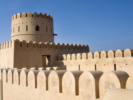De Jabrin à Balha jusqu'à la citadelle de Nizwa