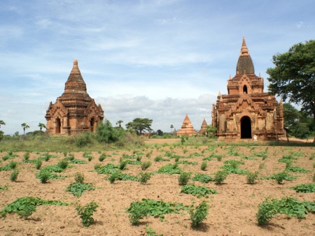 Flâneries à Bagan