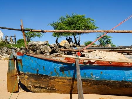 Au fil de l'eau vers Anakao, village vezo