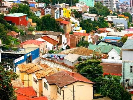 Les funiculaires de Valparaiso