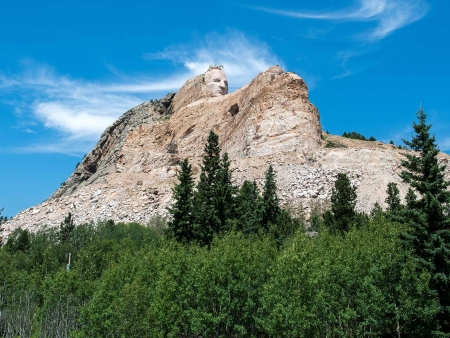 Visite des Badlands et du Crazy Horse Memorial