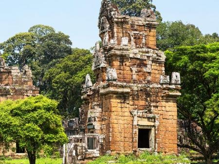 Les merveilles du site d'Angkor