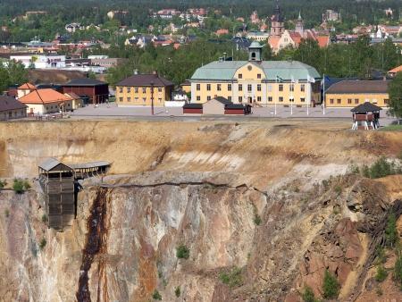 Mine de cuivre de Falun
