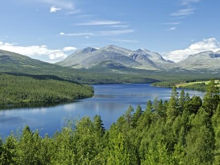 Le Parc National de Rondane et la ville classée de Røros