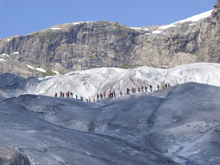 Jostedalsbreen, plus grand glacier d'Europe !