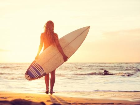 Les plages, le soleil, le surf