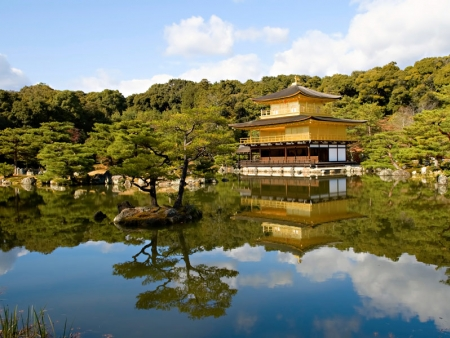 Visit the Golden Pavilion