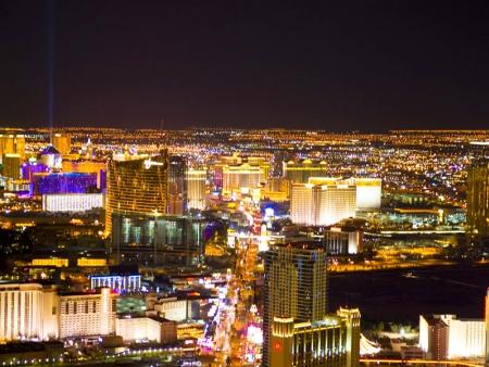Départ de Las Vegas
