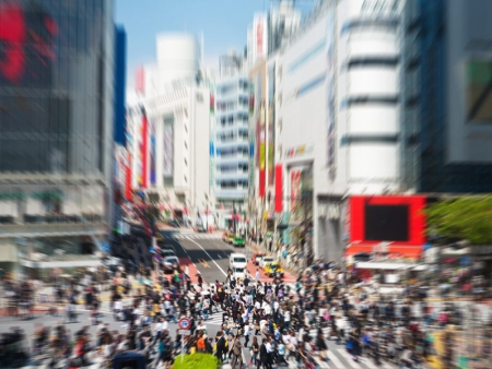 Start by visiting the Shibuya district