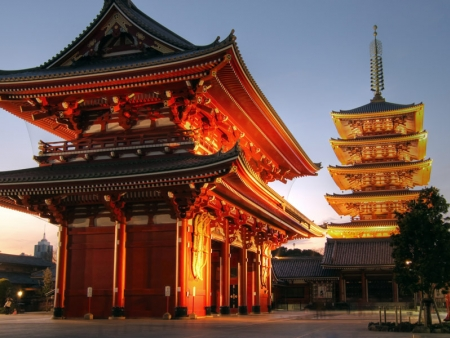 Visit Senso-ji Temple and the Asakusa district