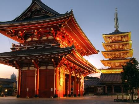 Visit Senso-ji Temple and the Asakusa district