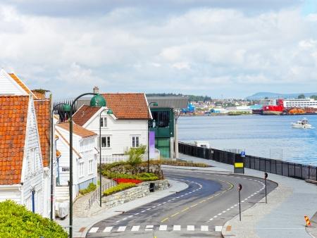 Stavanger, plus grande cité en bois d'Europe
