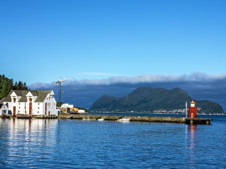 Direction Bergen à bord de l'Express Côtier