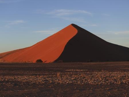 Départ pour le désert rouge